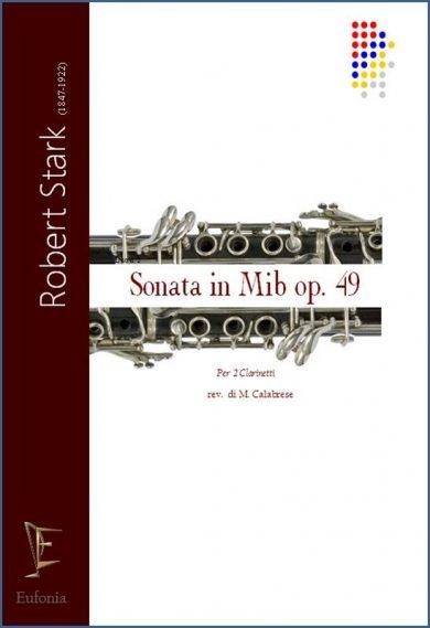 SONATA IN MIb OP. 49 PER DUE CLARINETTI edizioni_eufonia
