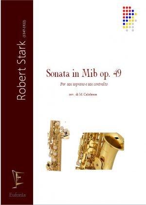 SONATA IN MIb OP. 49 PER DUE SAX edizioni_eufonia