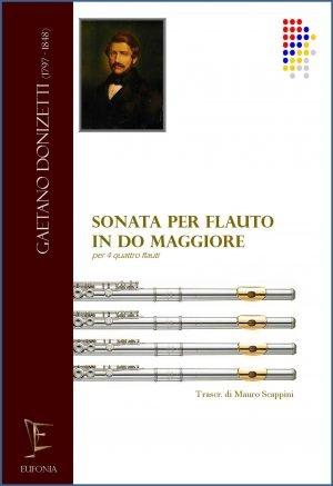 SONATA PER FLAUTO IN DO MAGGIORE - PER 4 FLAUTI edizioni_eufonia