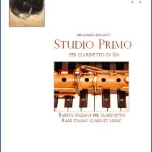 STUDIO PRIMO PER CLARINETTO edizioni_eufonia