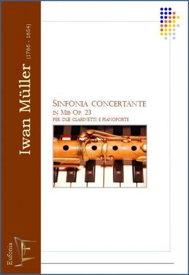 SINFONIA CONCERTANTE in Mib Op. 23 edizioni_eufonia