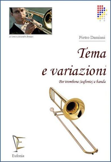 TEMA E VARIAZIONI - PER TROMBONE edizioni_eufonia