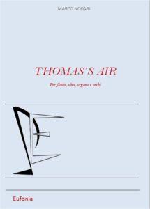 THOMAS'S AIR edizioni_eufonia