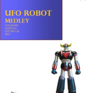 UFO ROBOT MEDLEY edizioni_eufonia