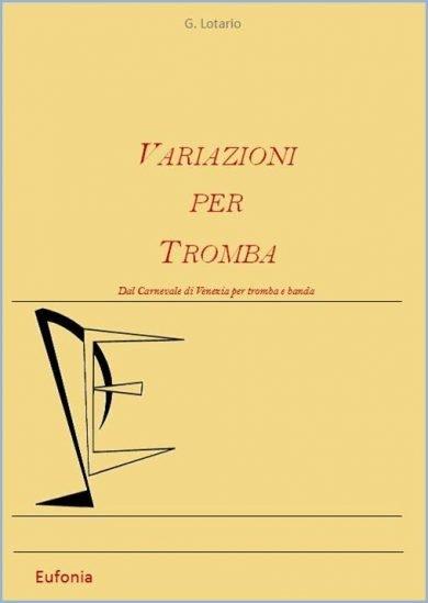 VARIAZIONI PER TROMBA edizioni_eufonia
