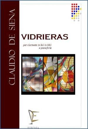 VIDRIERAS PER CLARINETTO IN SOL E PF. edizioni_eufonia