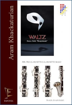 WALTZ PER QUARTETTO DI CLARINETTI edizioni_eufonia